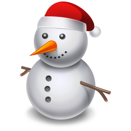 snowman icon christmas graphics iconset youthedesignerm #23943