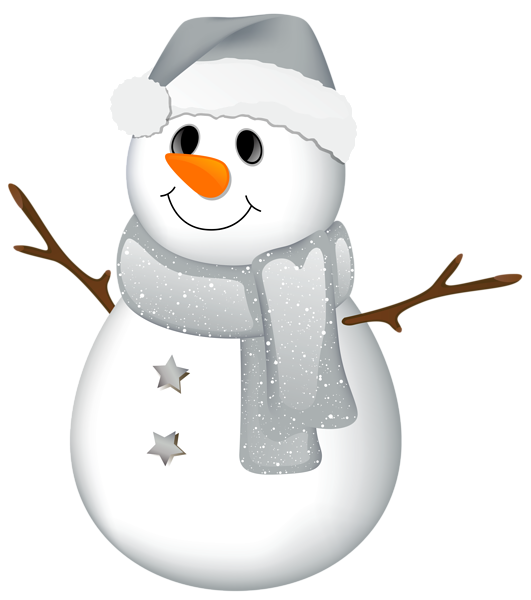 transparent snowman with grey hat clipart gallery #23931