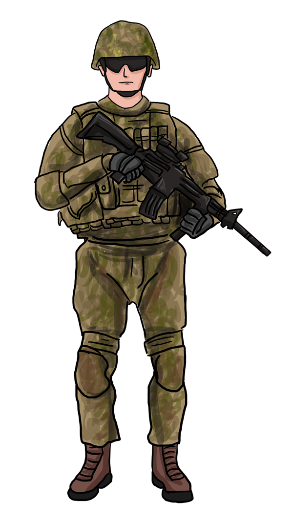 png military soldier transparent military soldier #20161