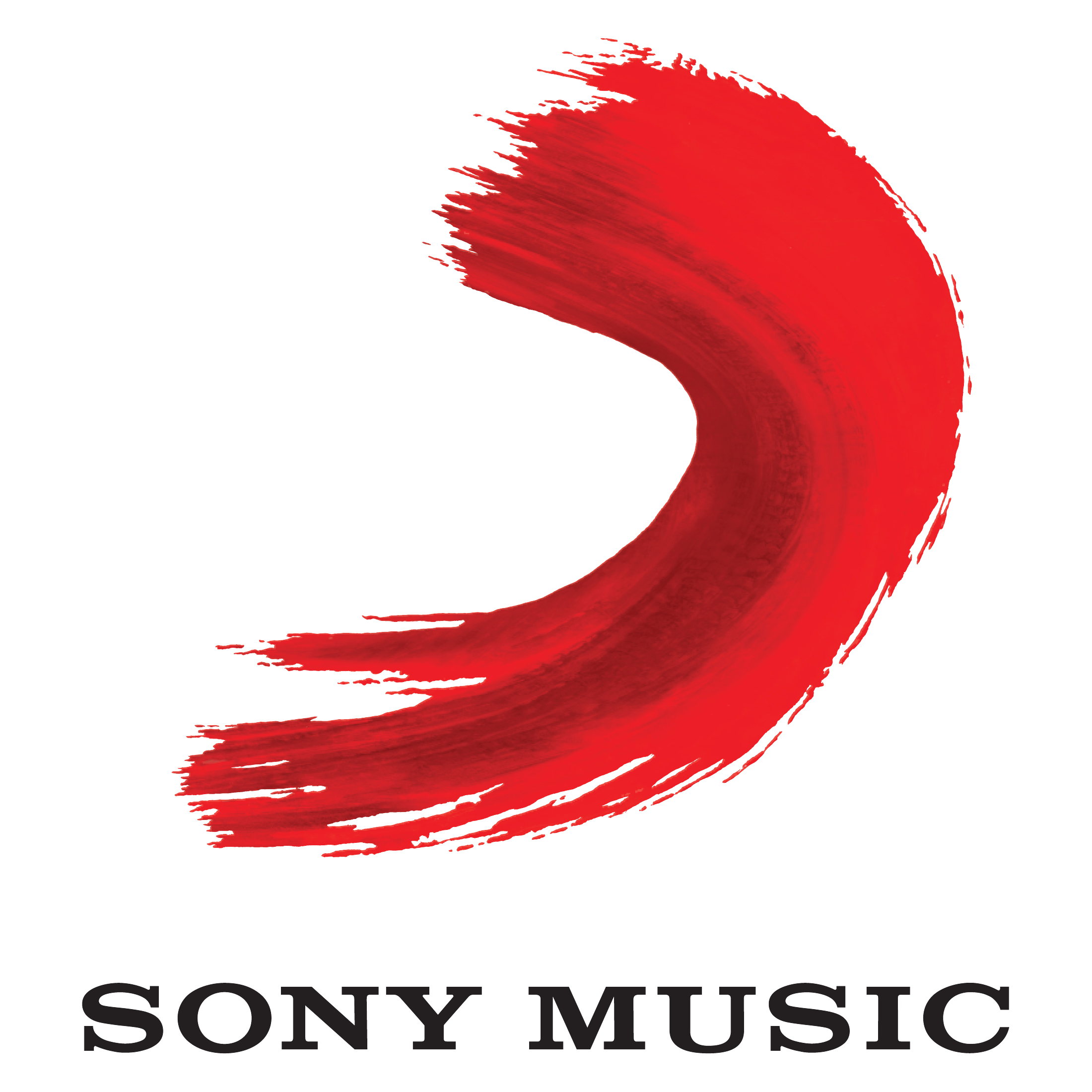red sony music png logos