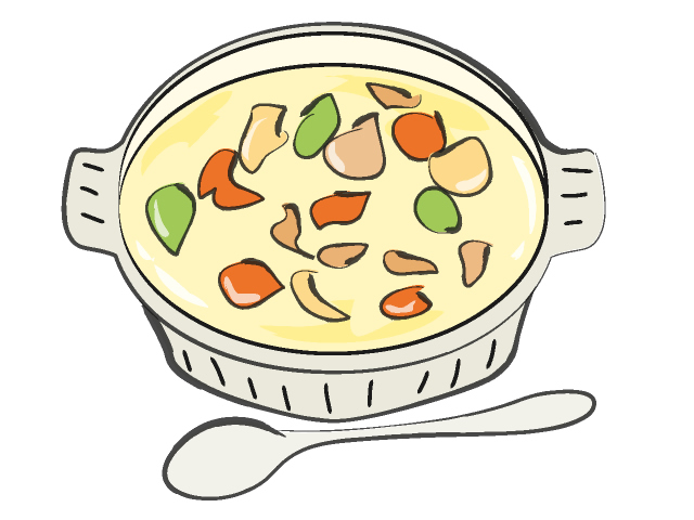 soup clip art bowl vegetable clipart #32623