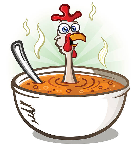 soup stew clipart cartoon pencil and color stew clipart #32600