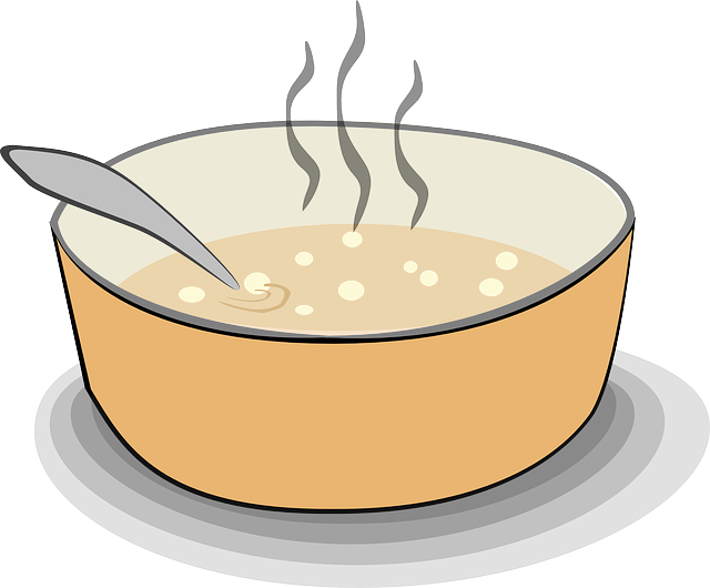 soup stew steaming vector graphic pixabay #30371