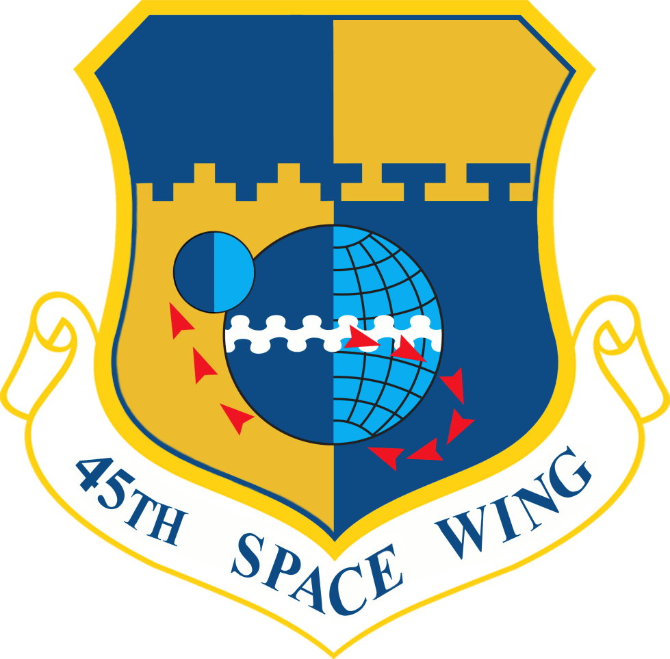 45th space force wing logo png #41301