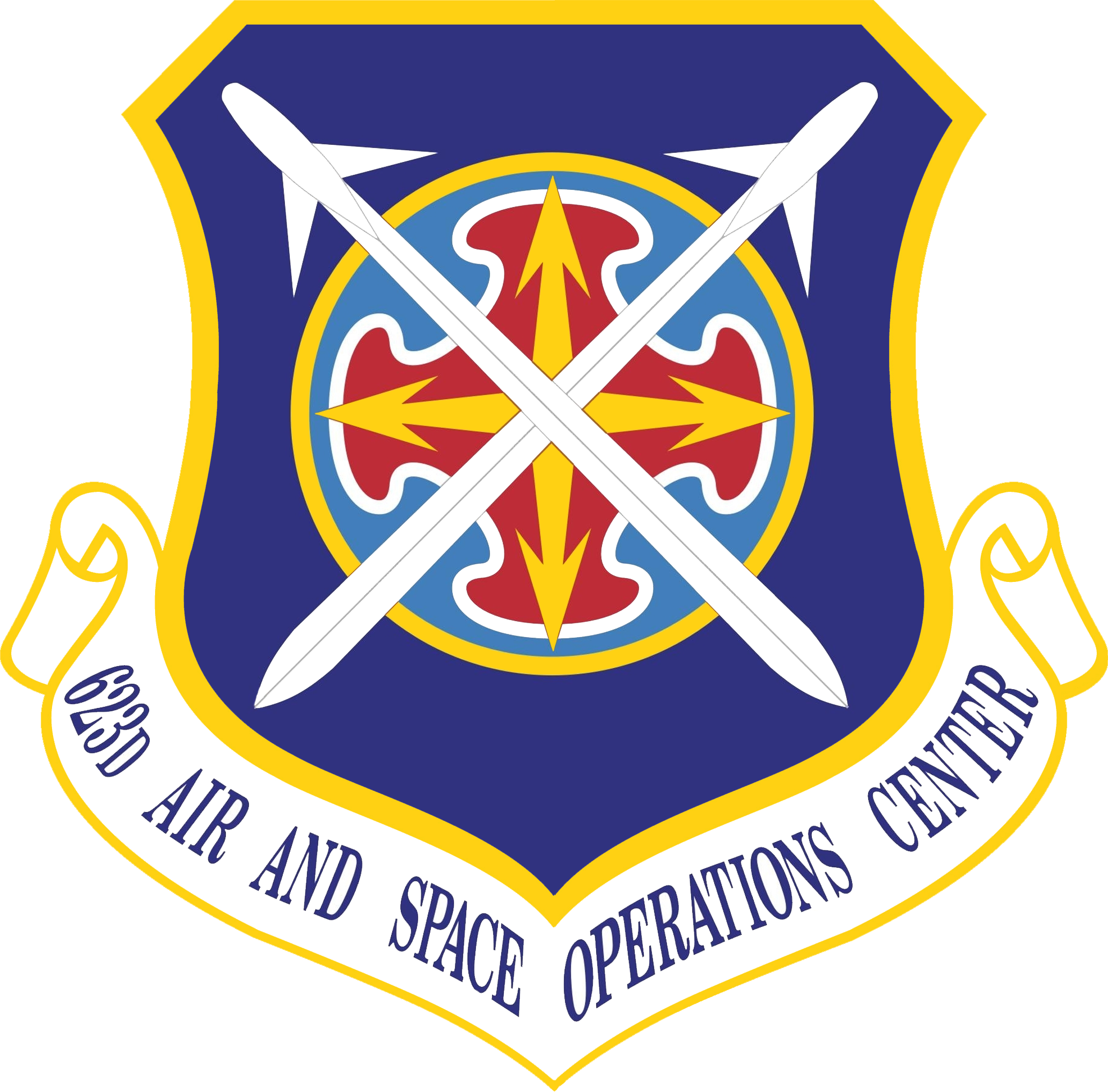 623D Air Space Operations Center PNG logo #41306