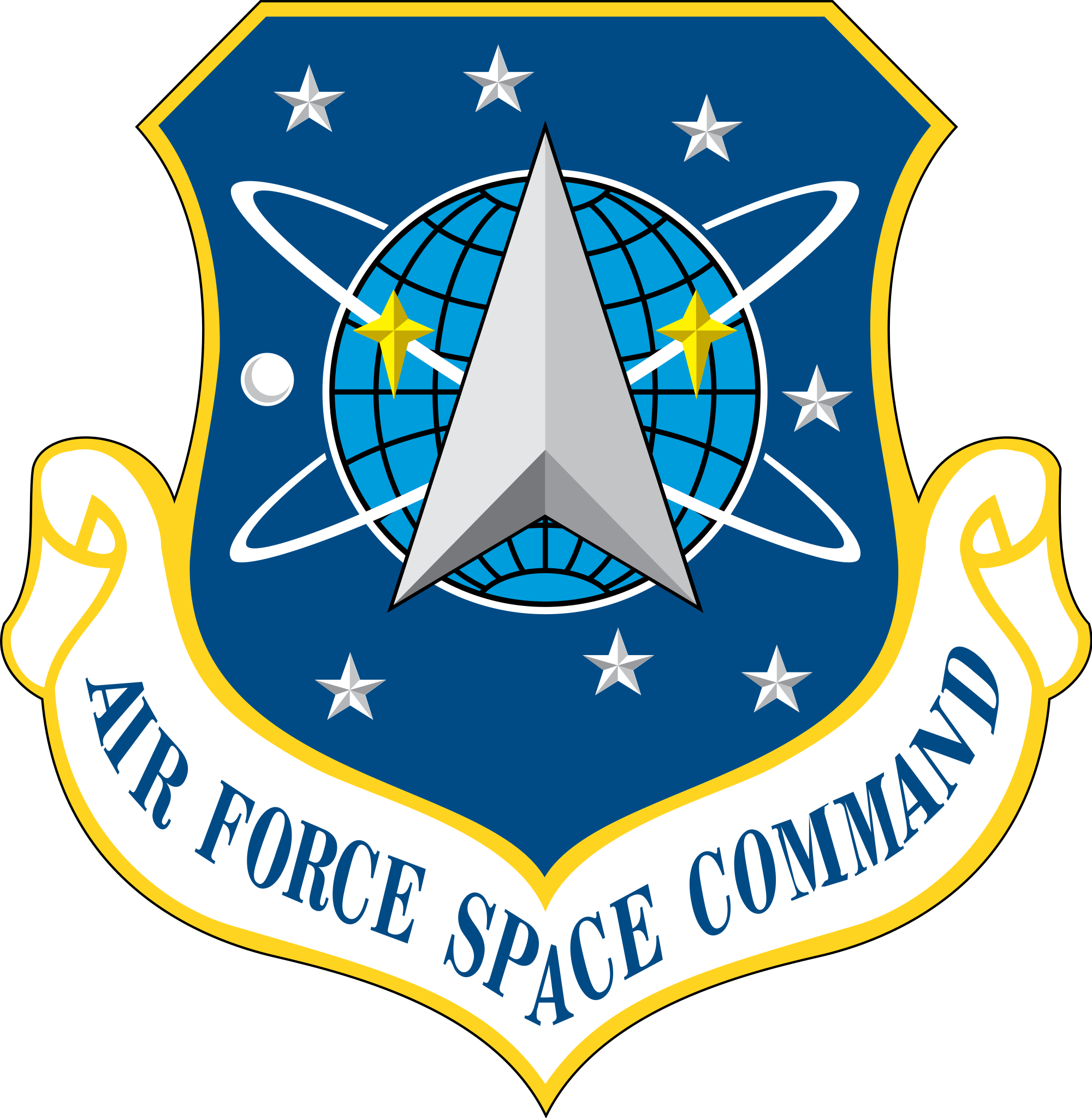 air force space command logo png #41294
