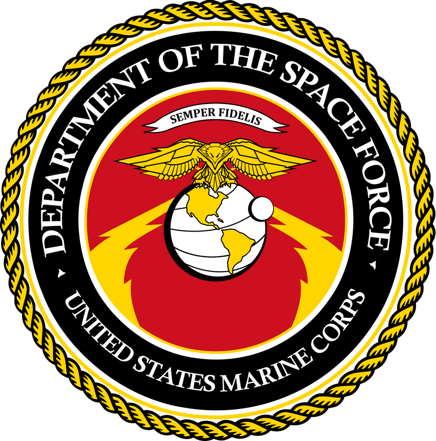 depertman of the space force marine corps logo transparent by ynot1989 #41300