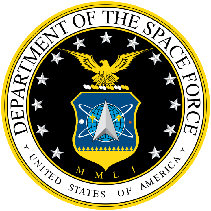 Depertman of the space force transparent logo png #41287