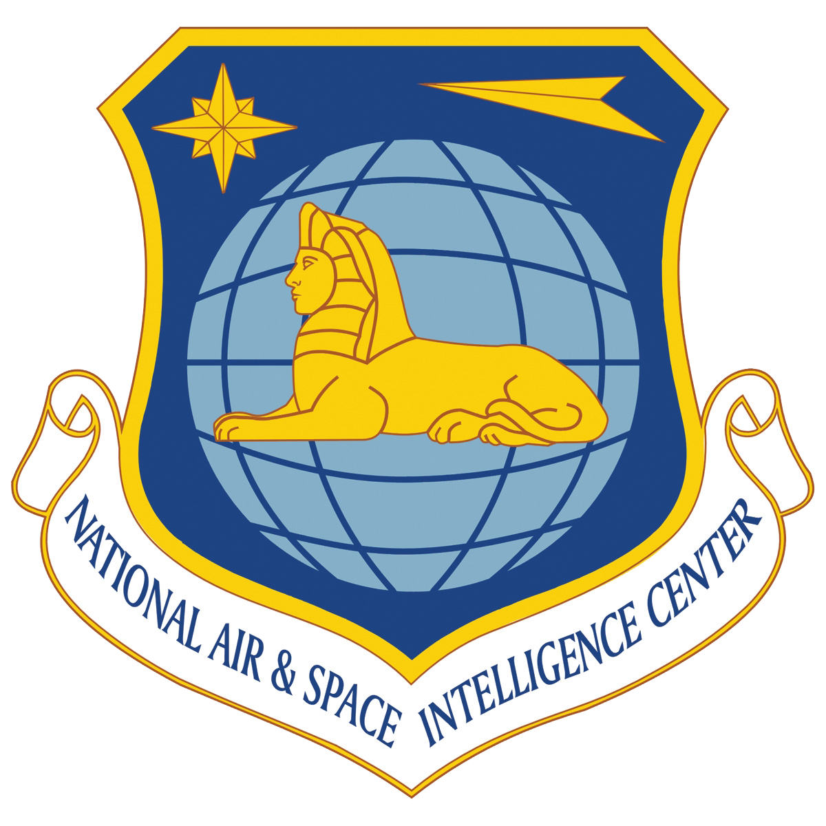 National Air Space Intelligence Center Logo PNG with Lion #41307