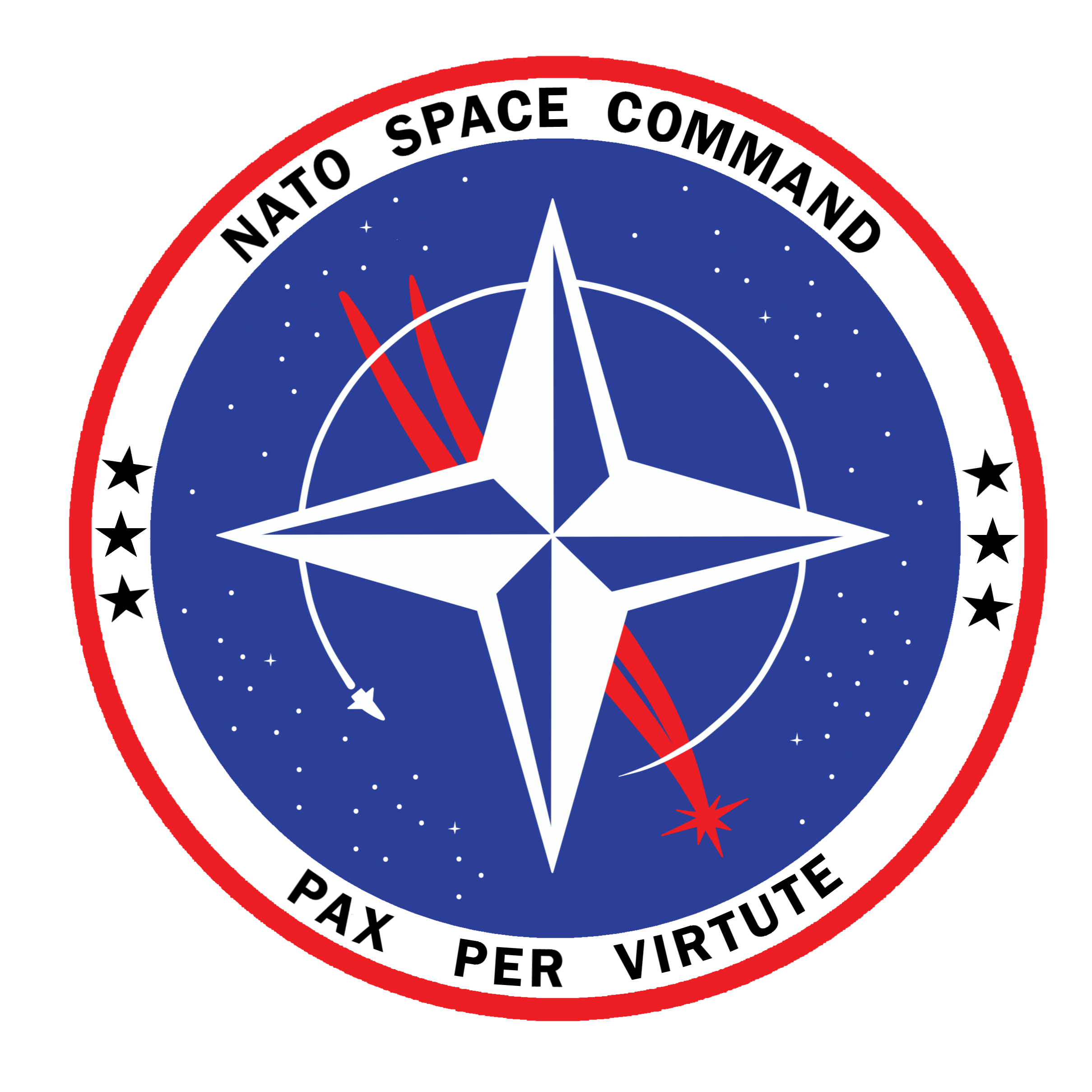 space force circle logo nato space command logo the artist deviantart #41299