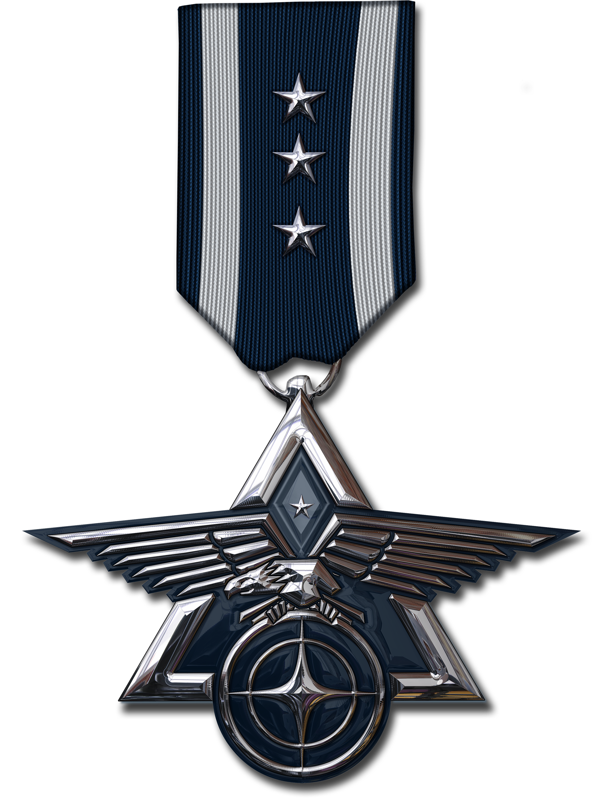space force citizen spotlight medal logo #41303