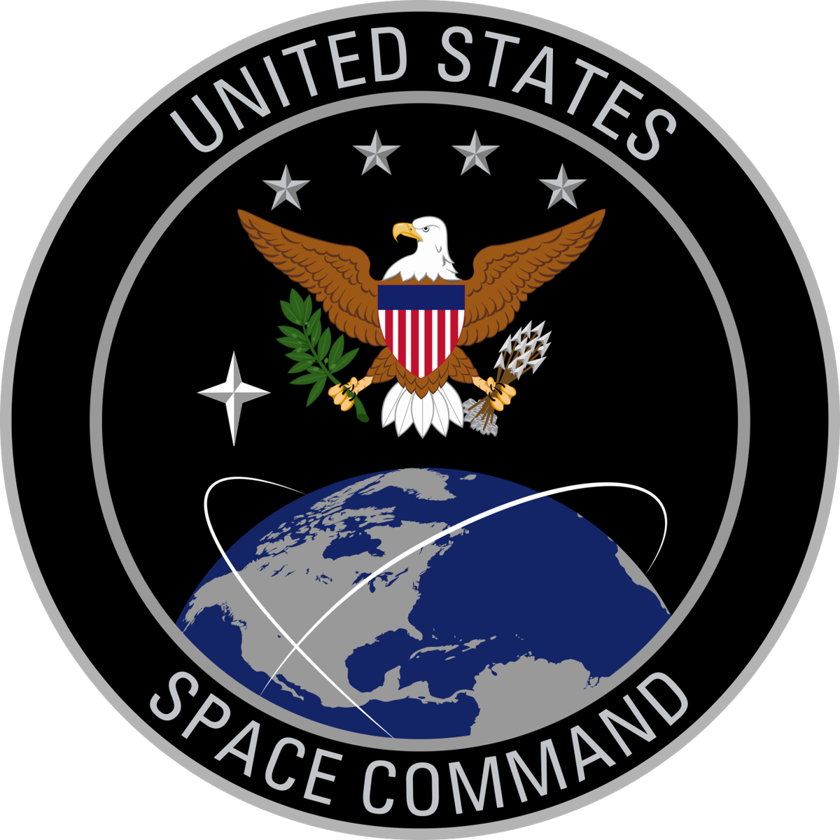 united states space command logo png #41289