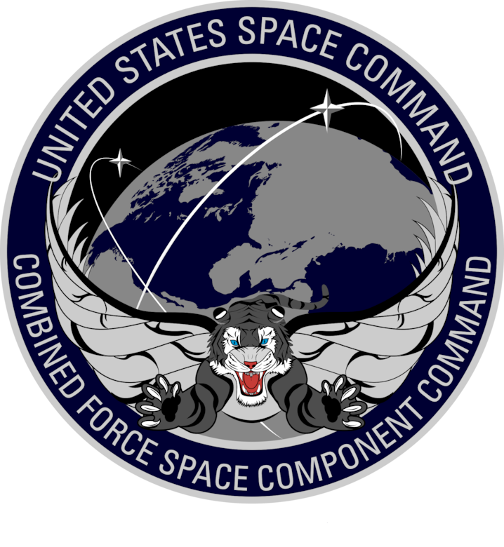 united states space command logo png combined force space component command #41304