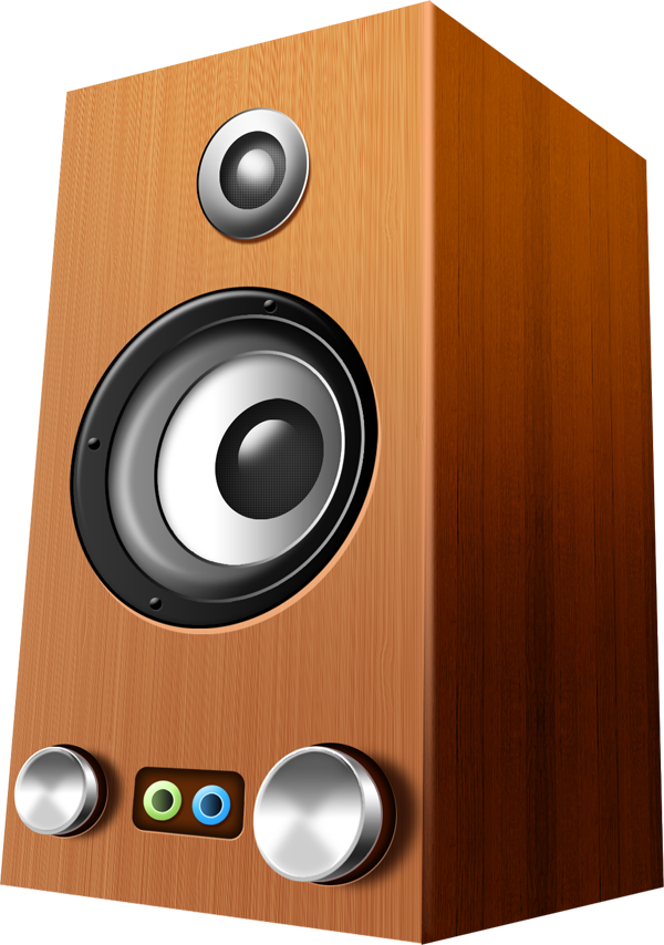 speaker, wooden speakers psd icons graphicsfuel 16052