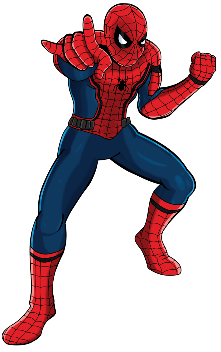 spiderman png spider man clipart deviantart pencil and color spider #10284