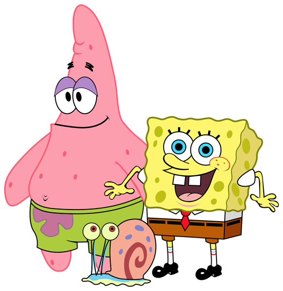 spongebob and friends png clipart image bob esponja #14902