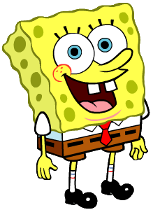 spongebob transparent png icons and png #14888