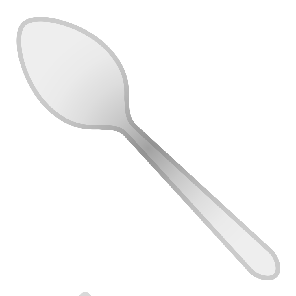 spoon icon noto emoji food drink iconset google #29439
