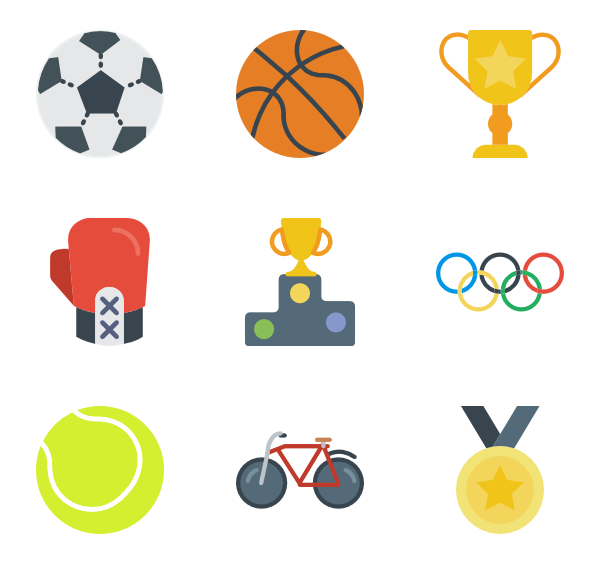 sport exercise icon packs vector icon packs svg psd #35465
