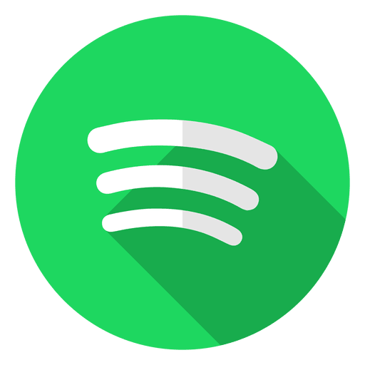 spotify icon logo transparent vector #7054