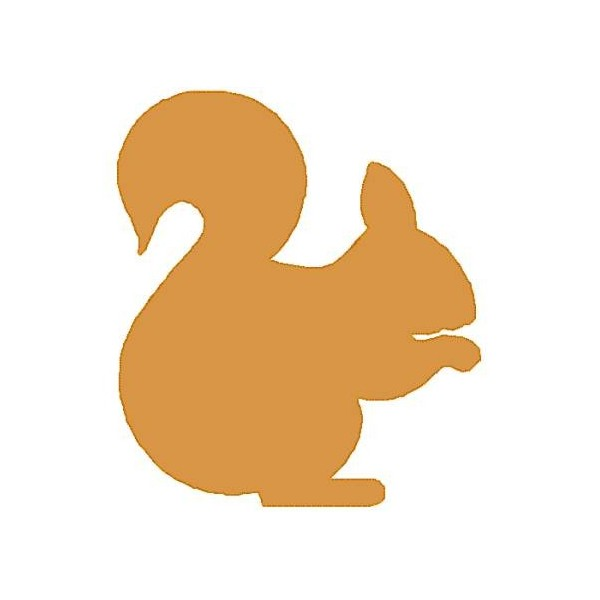 squirrel silhouette vector photo simple #37280
