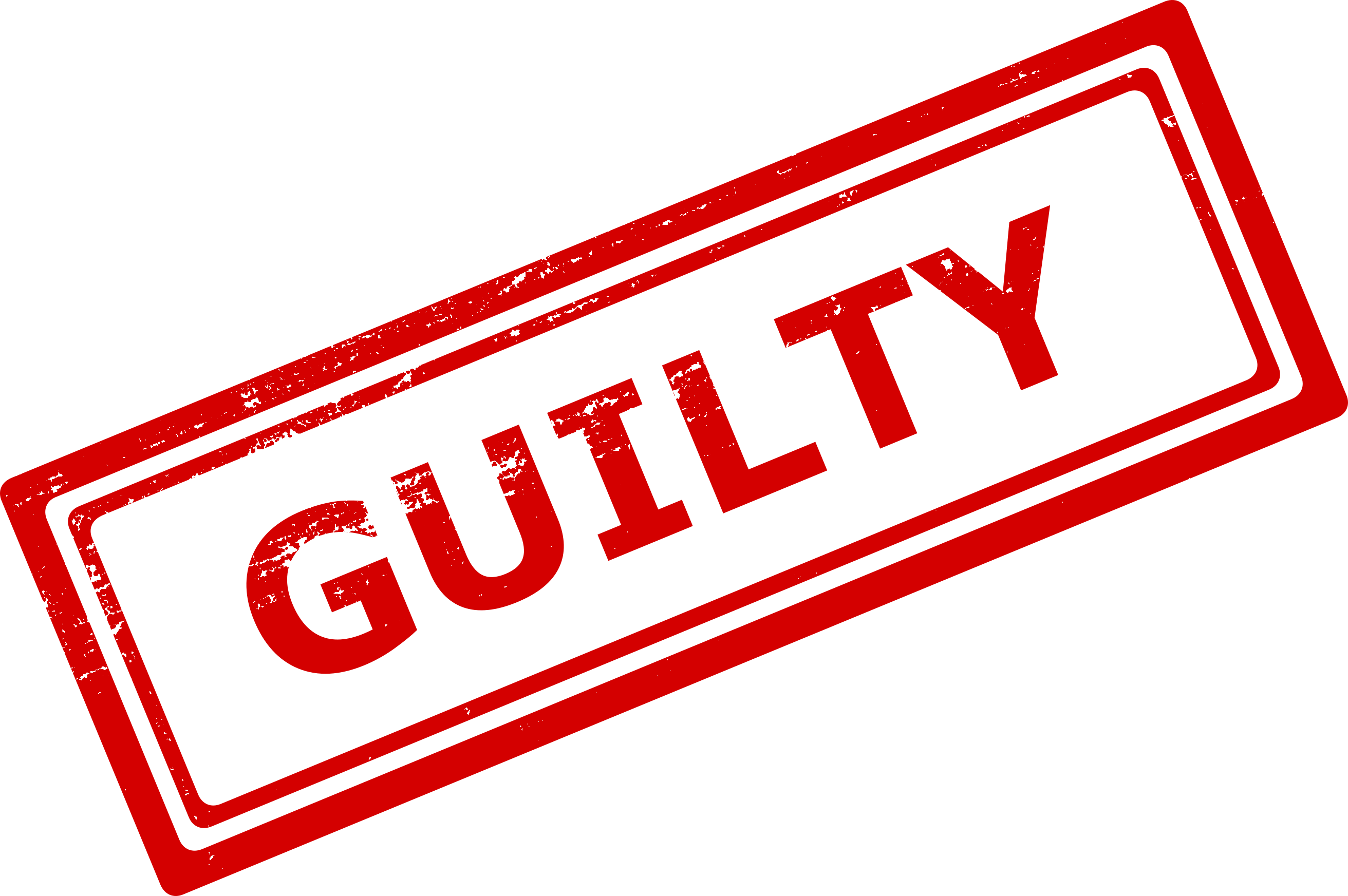 guilty stamp png transparent onlygfxm #28722