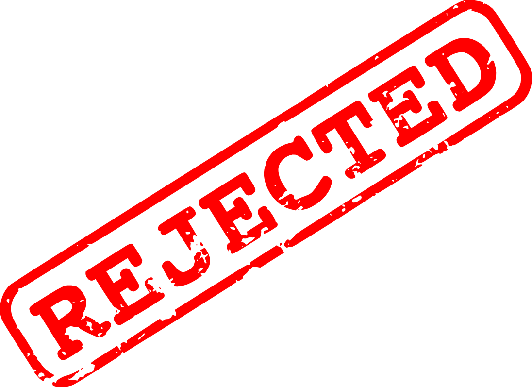 red rejected stamp png transparent onlygfxm #28685