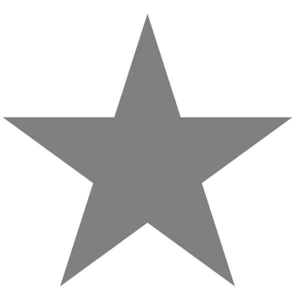 file star empty svg wikimedia commons #9436