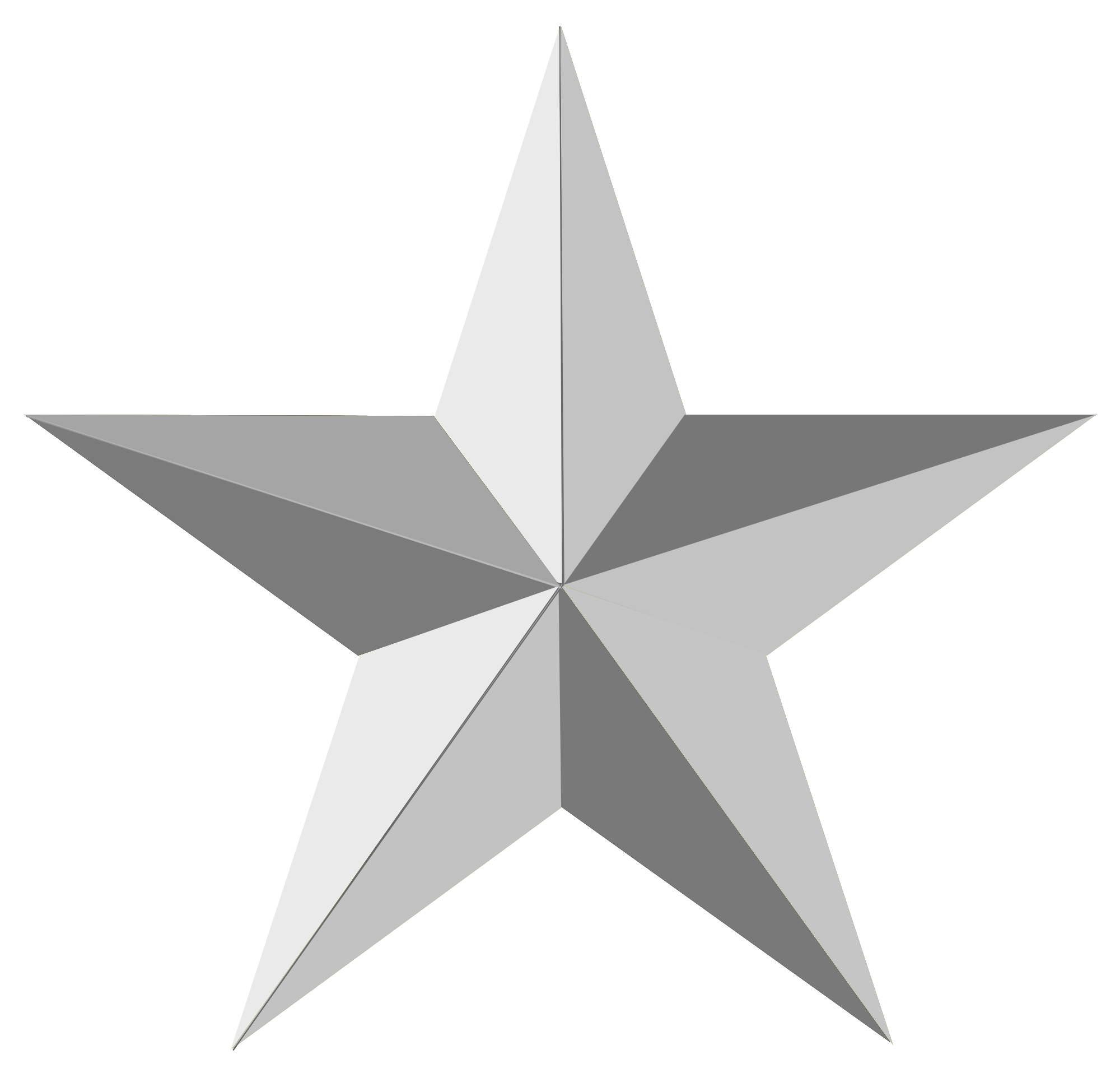 gray star png picture background transparent #9471