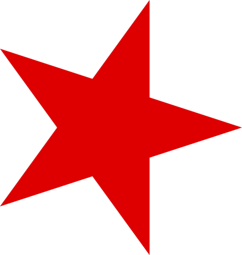 red star transparent background page pics about space #9461