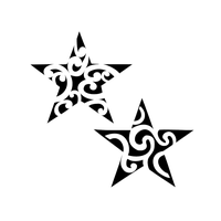 download star tattoos photo images clipart #8688