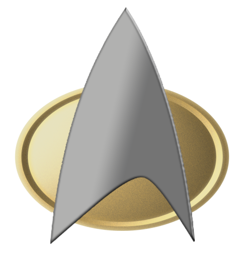 star trek comm badge tng png logo #3568