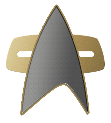 star trek comm badge voyager png logo #3578