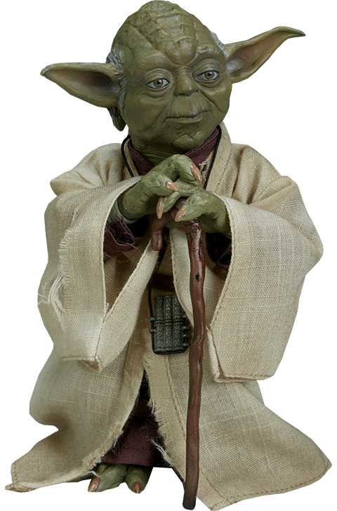 star wars yoda sixth scale figure sideshow collectibles #16008