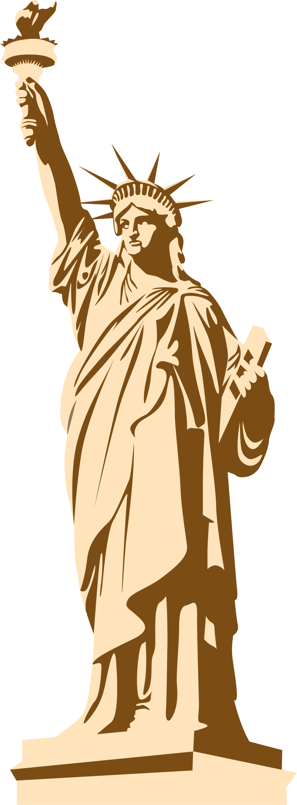 Statue Of Liberty PNG - New York City And Statue Of ...