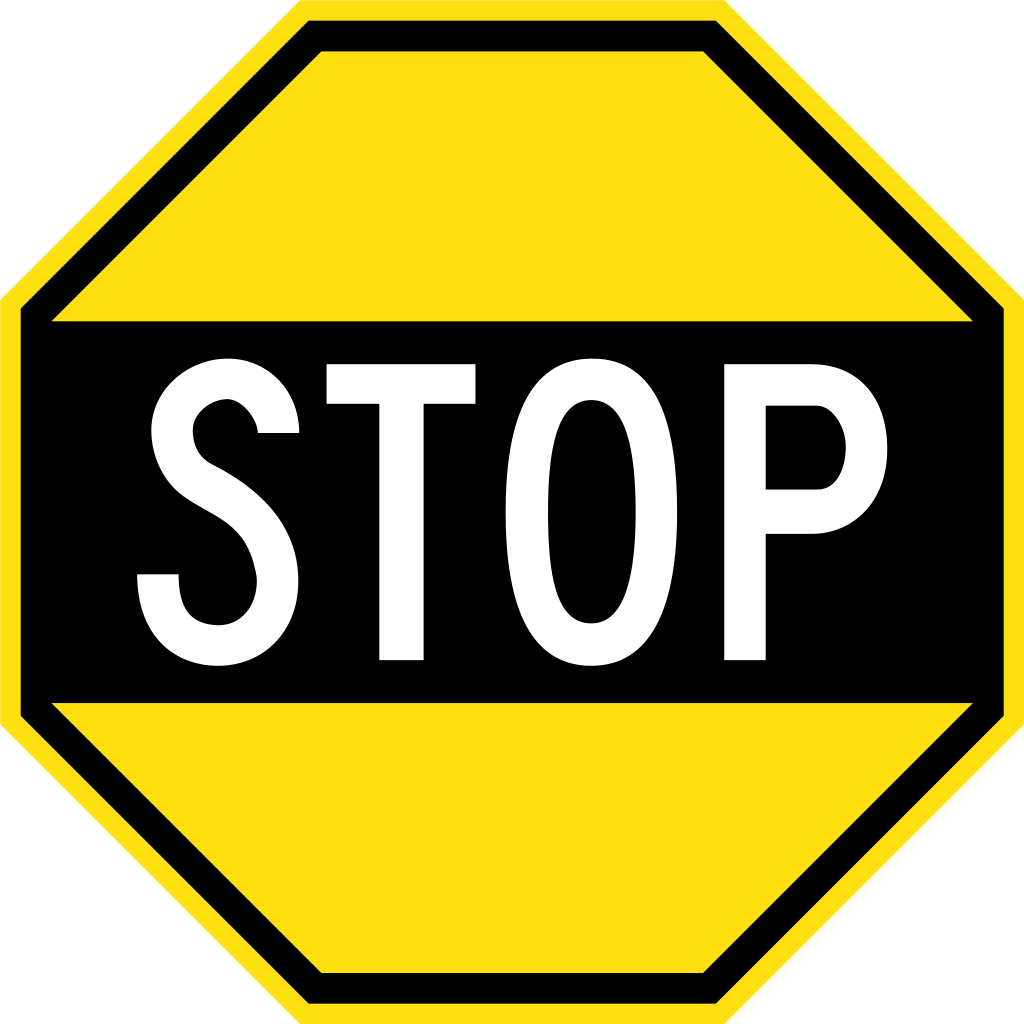 file early australian road sign stop svg wikipedia #19361