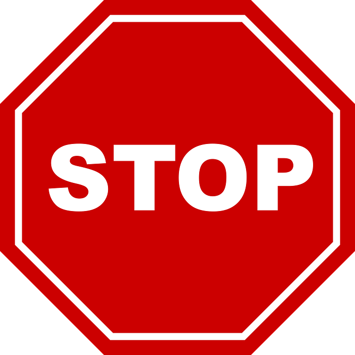 stop bord learn vector graphic pixabay #19360