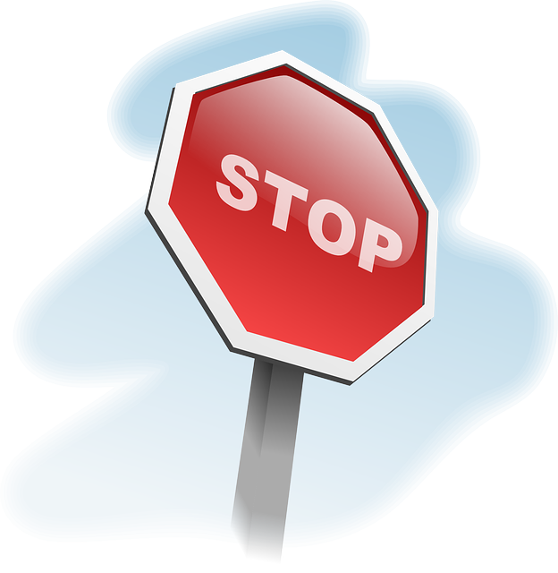 stop sign traffic vector graphic pixabay #19362