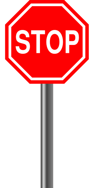 vector graphic stop alloy sign road sign #19350