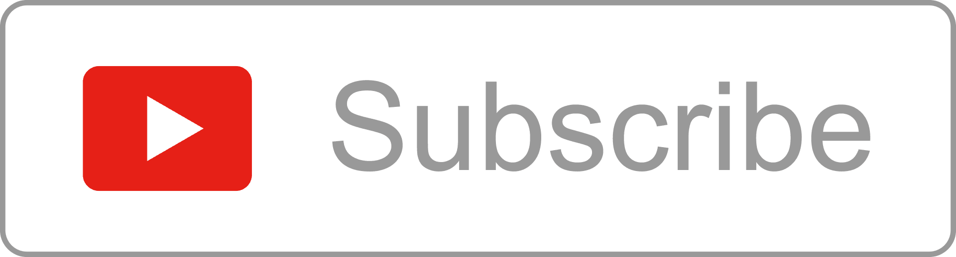 outline youtube subscribe button alfredocreates #33256