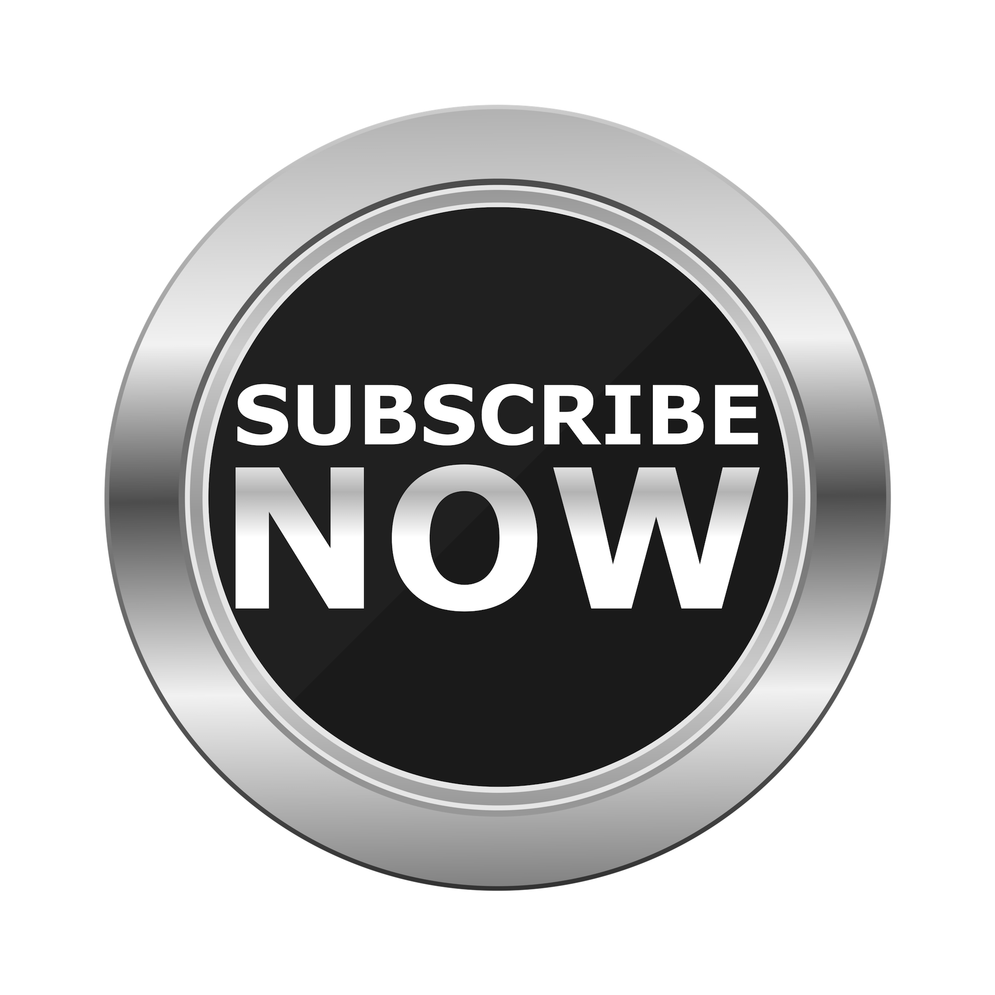 subscribe now circle button hd silver design #33286