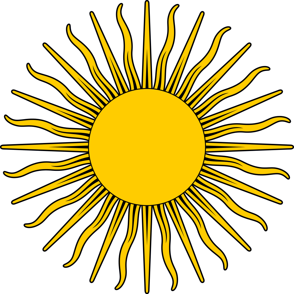 file sun symbol yellow svg wikimedia commons #9655