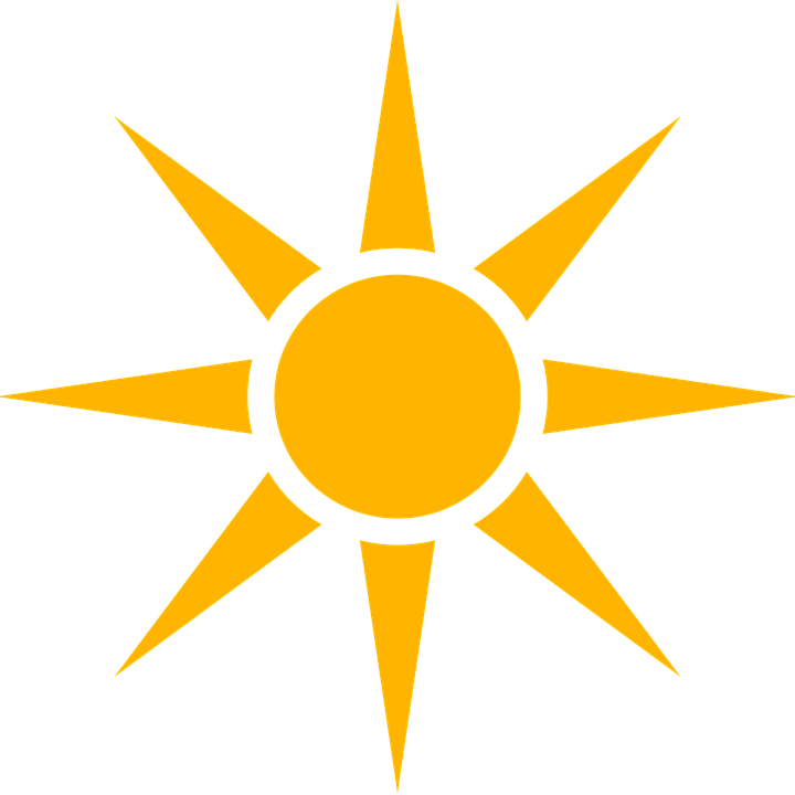 sun icon weather image pixabay #9631