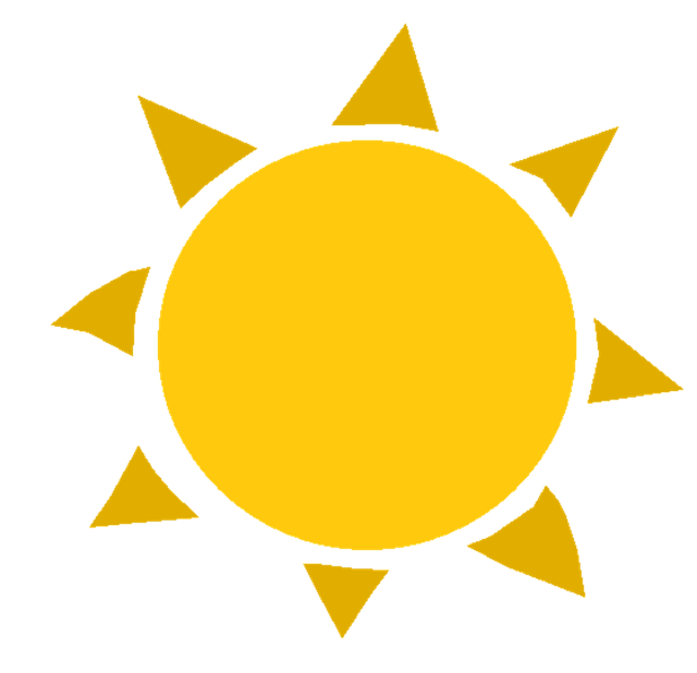 sun summer heat vector graphic pixabay #9619