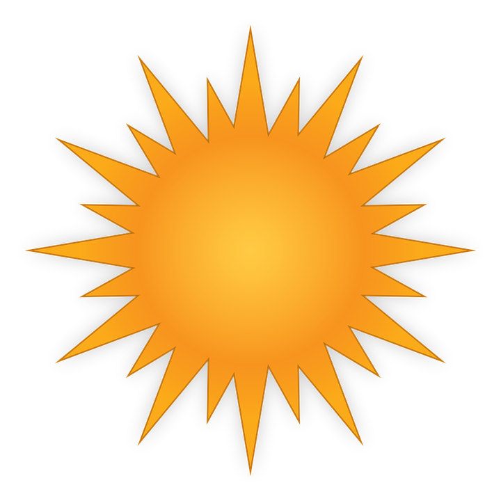 sun weather day bet vector graphic pixabay #9649