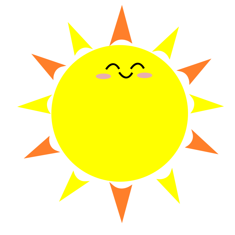 cartoon picture the sun clipart #39820