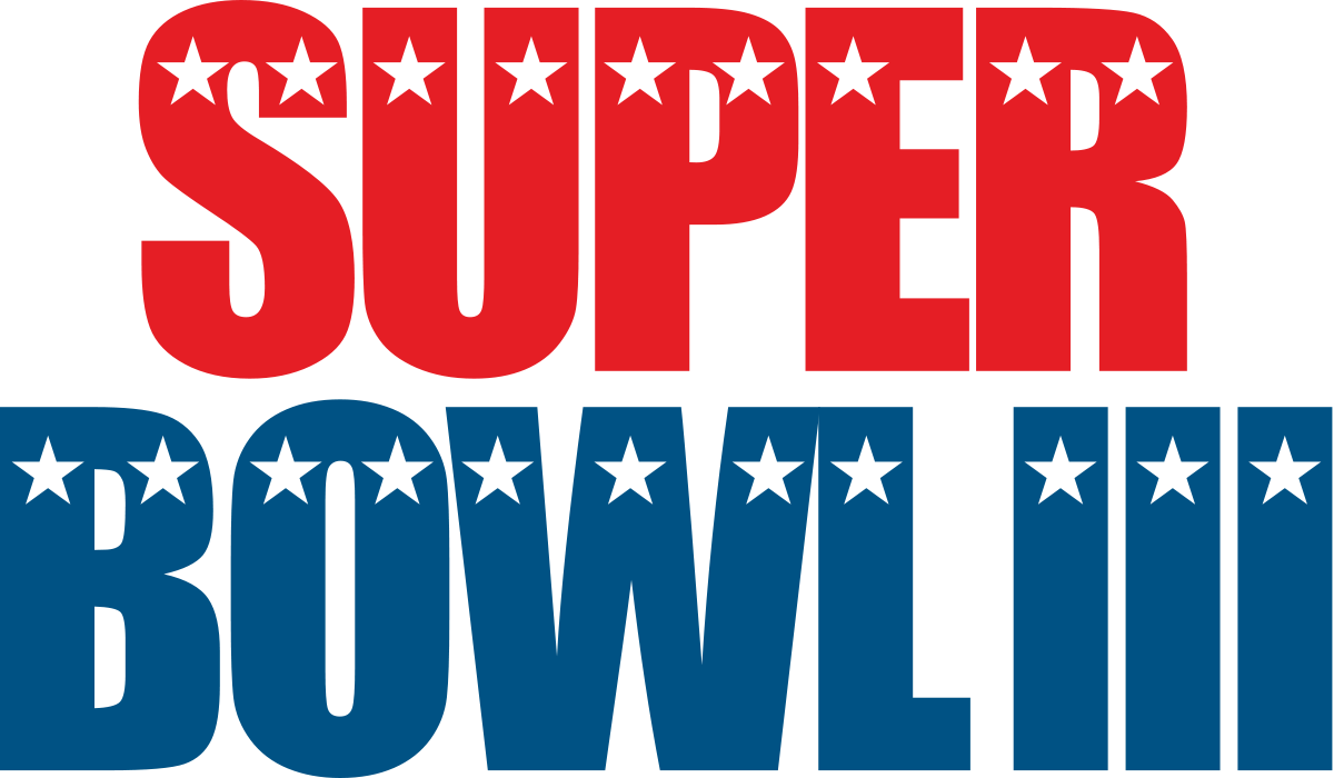super bowl iii png logo #6070