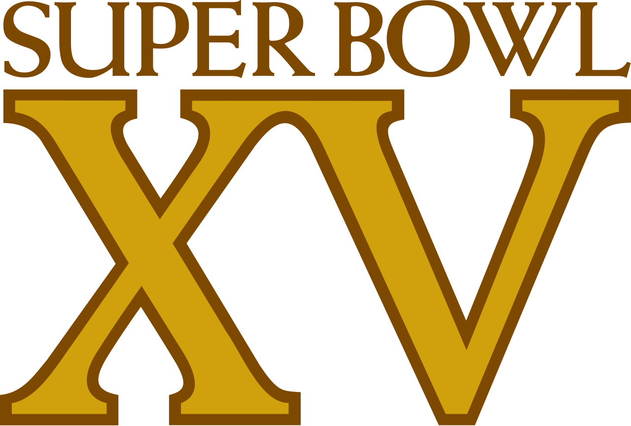 super bowl xv logo png #6053