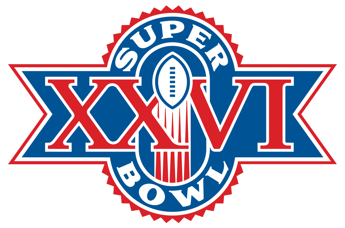 super bowl xxvi film png logo #6068