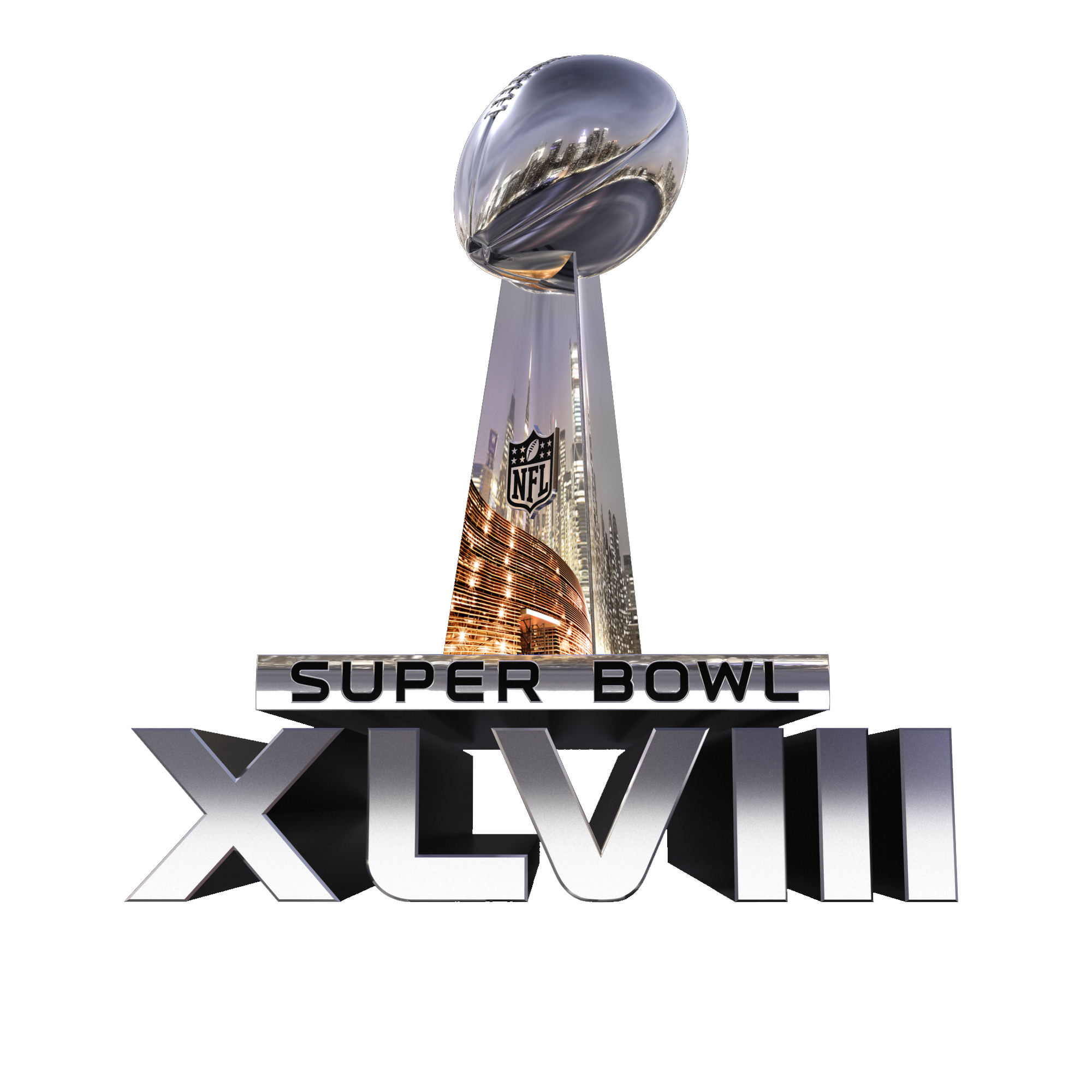 superbowl xlvııı party png logo #6054